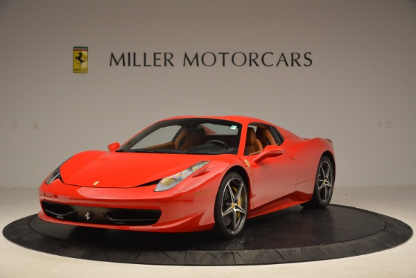 Used 2013 Ferrari 458 Spider for sale Sold at Bentley Greenwich in Greenwich CT 06830 13