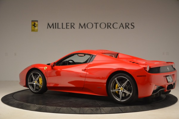 Used 2013 Ferrari 458 Spider for sale Sold at Bentley Greenwich in Greenwich CT 06830 16