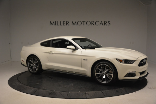 Used 2015 Ford Mustang GT 50 Years Limited Edition for sale Sold at Bentley Greenwich in Greenwich CT 06830 10