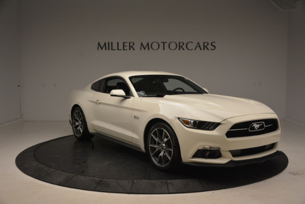 Used 2015 Ford Mustang GT 50 Years Limited Edition for sale Sold at Bentley Greenwich in Greenwich CT 06830 11