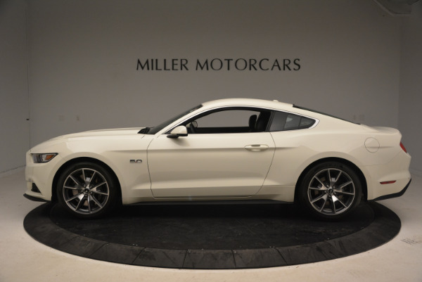Used 2015 Ford Mustang GT 50 Years Limited Edition for sale Sold at Bentley Greenwich in Greenwich CT 06830 3