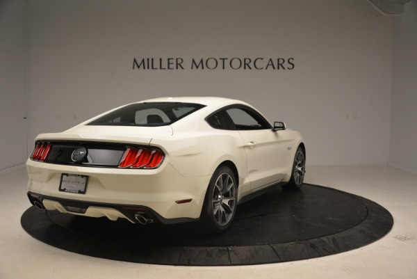 Used 2015 Ford Mustang GT 50 Years Limited Edition for sale Sold at Bentley Greenwich in Greenwich CT 06830 7