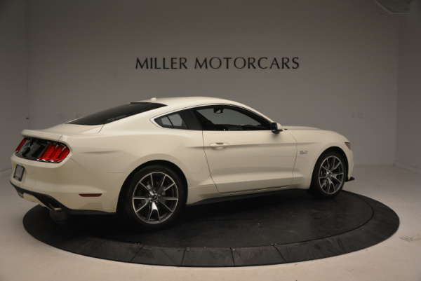 Used 2015 Ford Mustang GT 50 Years Limited Edition for sale Sold at Bentley Greenwich in Greenwich CT 06830 8