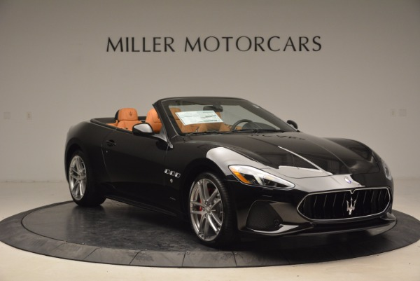New 2018 Maserati GranTurismo Sport Convertible for sale Sold at Bentley Greenwich in Greenwich CT 06830 11