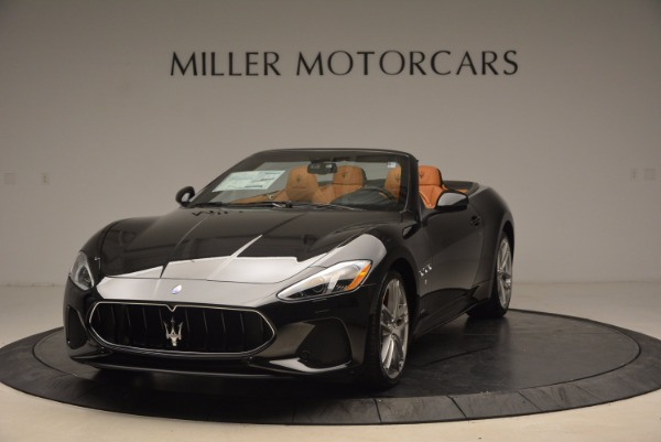 New 2018 Maserati GranTurismo Sport Convertible for sale Sold at Bentley Greenwich in Greenwich CT 06830 1