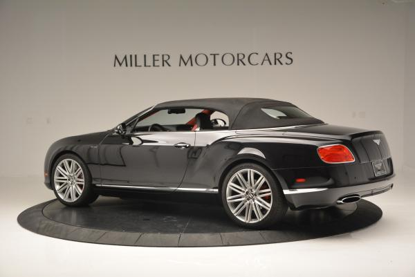 Used 2014 Bentley Continental GT Speed Convertible for sale Sold at Bentley Greenwich in Greenwich CT 06830 17