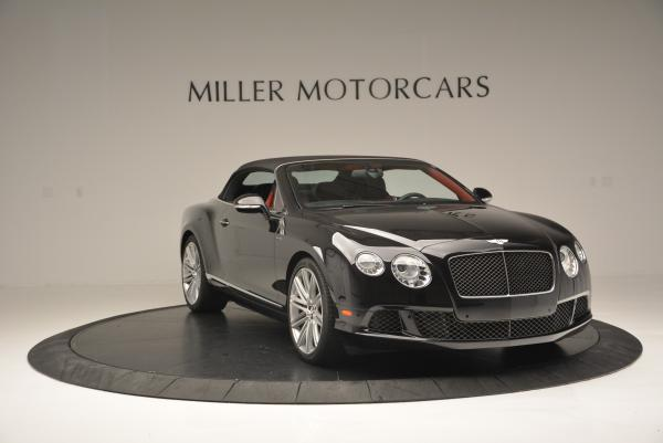 Used 2014 Bentley Continental GT Speed Convertible for sale Sold at Bentley Greenwich in Greenwich CT 06830 24