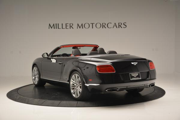 Used 2014 Bentley Continental GT Speed Convertible for sale Sold at Bentley Greenwich in Greenwich CT 06830 5