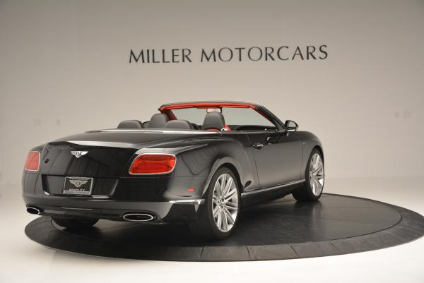 Used 2014 Bentley Continental GT Speed Convertible for sale Sold at Bentley Greenwich in Greenwich CT 06830 7