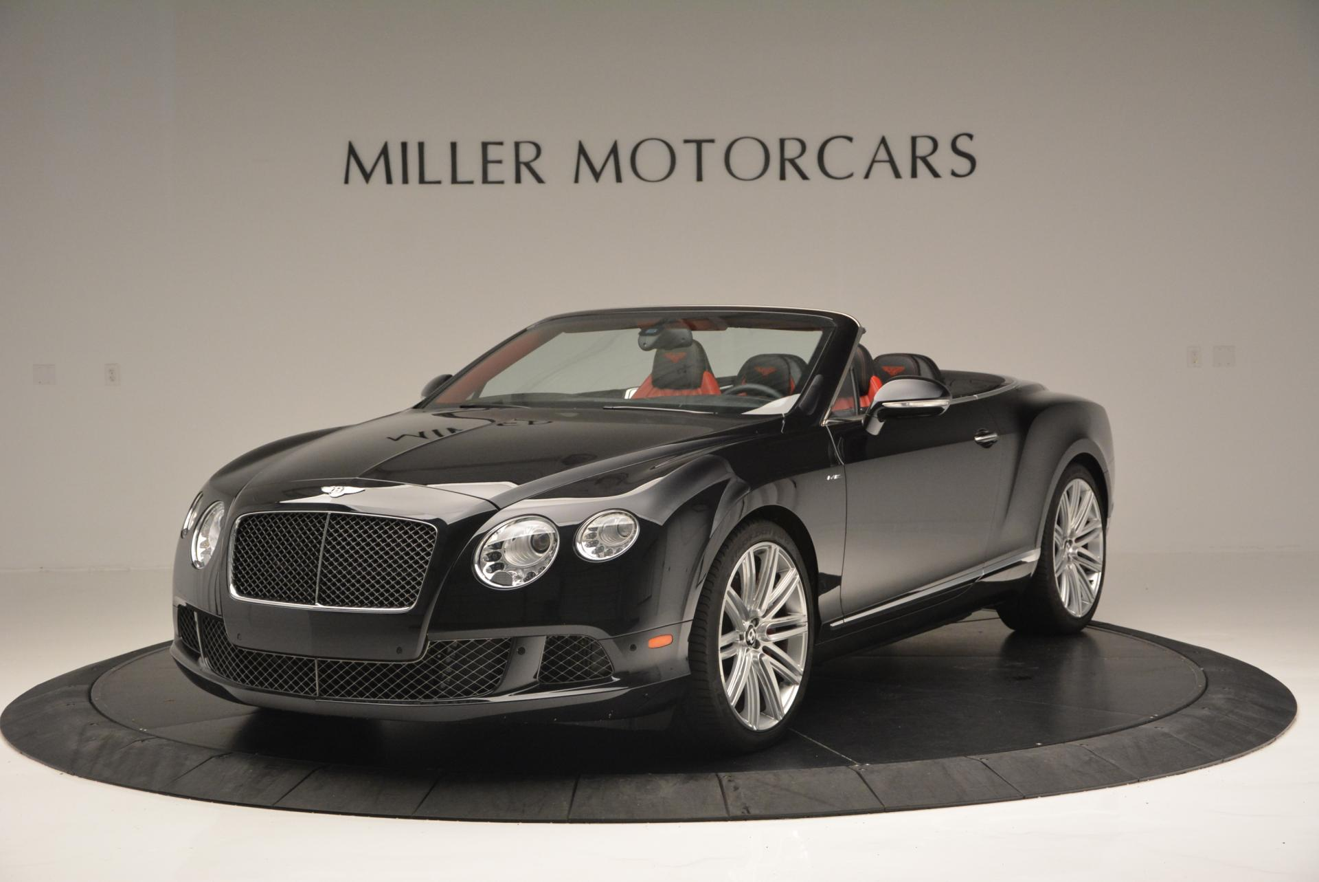Used 2014 Bentley Continental GT Speed Convertible for sale Sold at Bentley Greenwich in Greenwich CT 06830 1