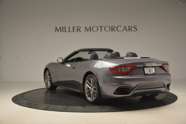 New 2018 Maserati GranTurismo Sport Convertible for sale Sold at Bentley Greenwich in Greenwich CT 06830 10