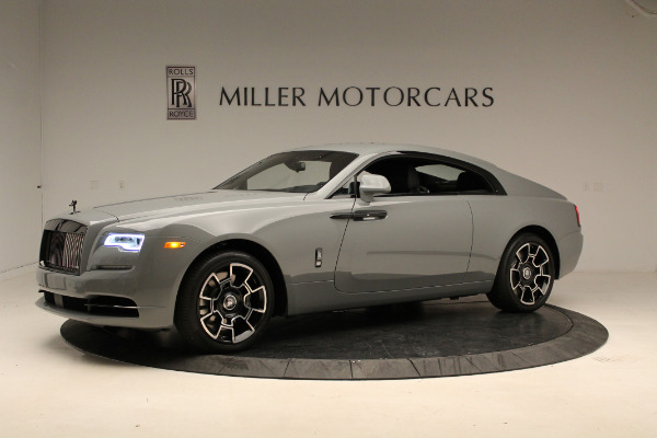 New 2018 Rolls-Royce Wraith Black Badge for sale Sold at Bentley Greenwich in Greenwich CT 06830 2