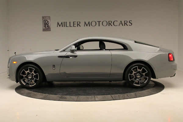 New 2018 Rolls-Royce Wraith Black Badge for sale Sold at Bentley Greenwich in Greenwich CT 06830 3