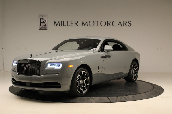 New 2018 Rolls-Royce Wraith Black Badge for sale Sold at Bentley Greenwich in Greenwich CT 06830 1