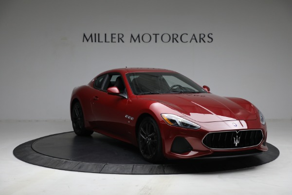 Used 2018 Maserati GranTurismo Sport for sale Call for price at Bentley Greenwich in Greenwich CT 06830 11