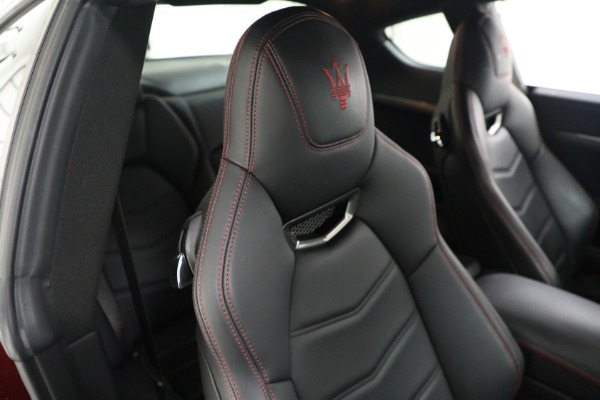 Used 2018 Maserati GranTurismo Sport for sale Call for price at Bentley Greenwich in Greenwich CT 06830 20