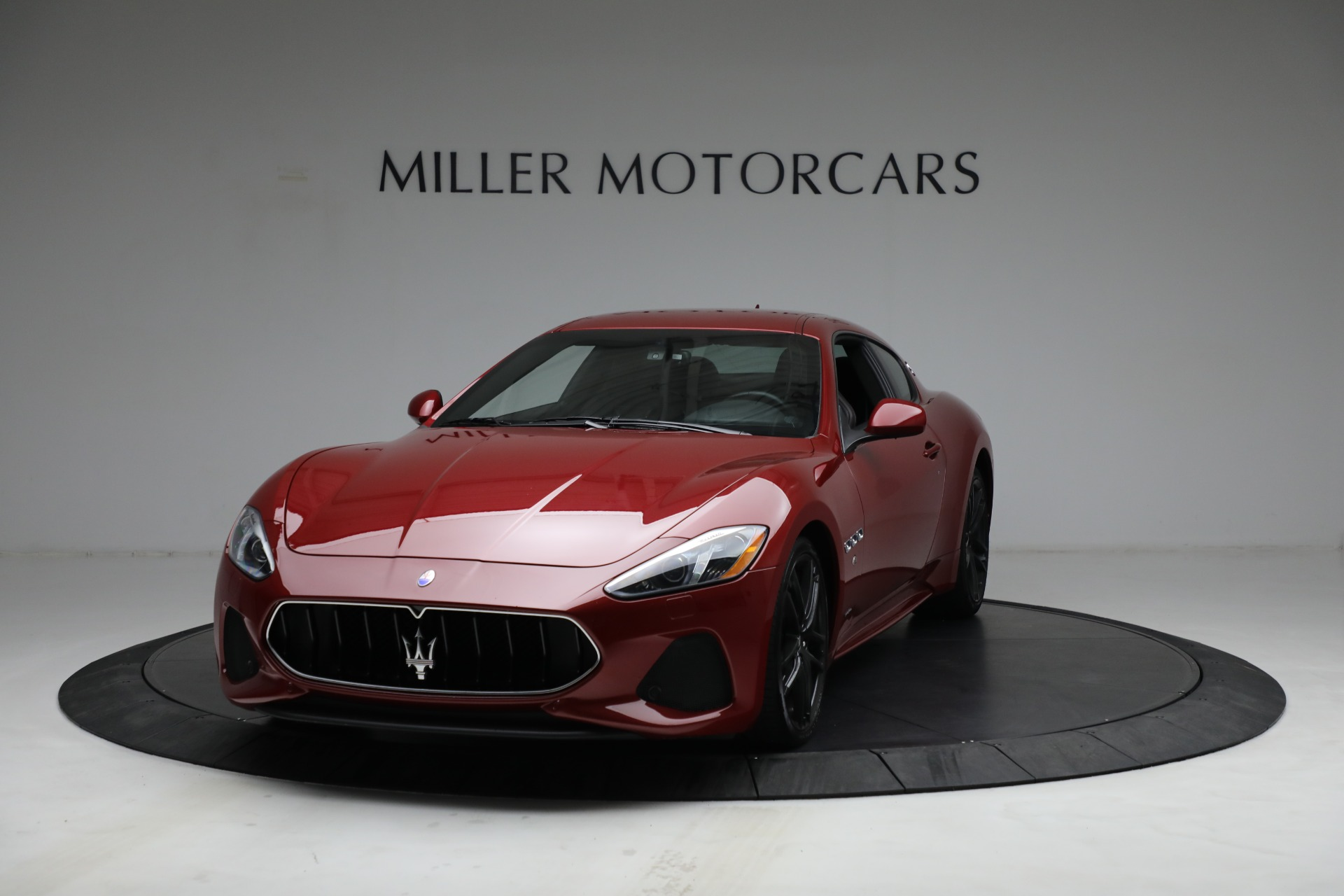 Used 2018 Maserati GranTurismo Sport for sale Call for price at Bentley Greenwich in Greenwich CT 06830 1