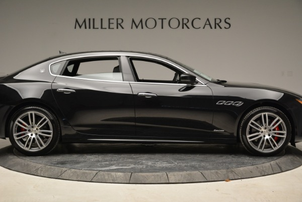 Used 2018 Maserati Quattroporte S Q4 GranLusso for sale Sold at Bentley Greenwich in Greenwich CT 06830 9