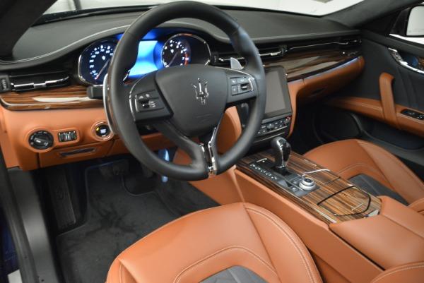 New 2018 Maserati Quattroporte S Q4 GranLusso for sale Sold at Bentley Greenwich in Greenwich CT 06830 13