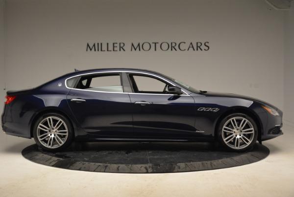 New 2018 Maserati Quattroporte S Q4 GranLusso for sale Sold at Bentley Greenwich in Greenwich CT 06830 9
