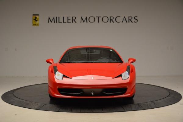 Used 2012 Ferrari 458 Italia for sale Sold at Bentley Greenwich in Greenwich CT 06830 12