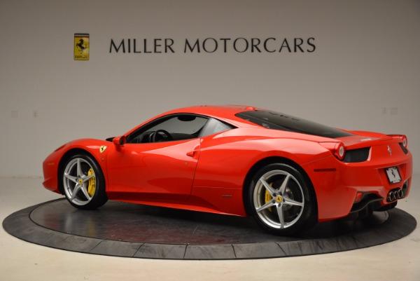 Used 2012 Ferrari 458 Italia for sale Sold at Bentley Greenwich in Greenwich CT 06830 4