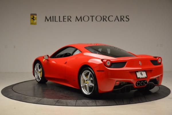 Used 2012 Ferrari 458 Italia for sale Sold at Bentley Greenwich in Greenwich CT 06830 5