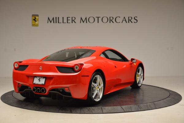 Used 2012 Ferrari 458 Italia for sale Sold at Bentley Greenwich in Greenwich CT 06830 7