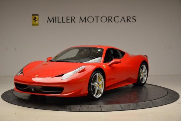 Used 2012 Ferrari 458 Italia for sale Sold at Bentley Greenwich in Greenwich CT 06830 1