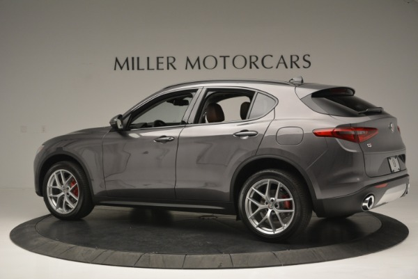 New 2018 Alfa Romeo Stelvio Sport Q4 for sale Sold at Bentley Greenwich in Greenwich CT 06830 4