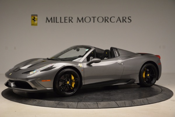 Used 2015 Ferrari 458 Speciale Aperta for sale Sold at Bentley Greenwich in Greenwich CT 06830 2