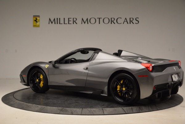 Used 2015 Ferrari 458 Speciale Aperta for sale Sold at Bentley Greenwich in Greenwich CT 06830 4