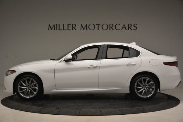New 2018 Alfa Romeo Giulia Q4 for sale Sold at Bentley Greenwich in Greenwich CT 06830 3