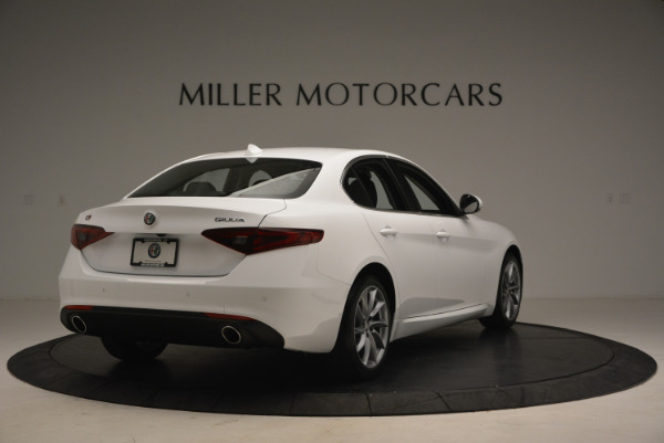 New 2018 Alfa Romeo Giulia Q4 for sale Sold at Bentley Greenwich in Greenwich CT 06830 7