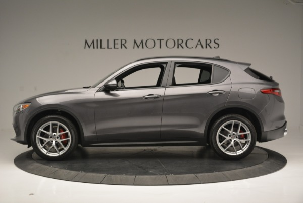 New 2018 Alfa Romeo Stelvio Ti Sport Q4 for sale Sold at Bentley Greenwich in Greenwich CT 06830 3