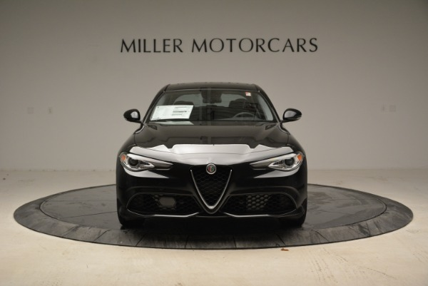 New 2018 Alfa Romeo Giulia Ti Sport Q4 for sale Sold at Bentley Greenwich in Greenwich CT 06830 12