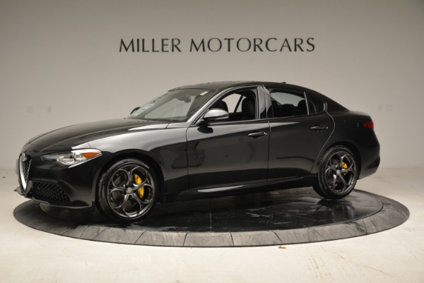 New 2018 Alfa Romeo Giulia Ti Sport Q4 for sale Sold at Bentley Greenwich in Greenwich CT 06830 2