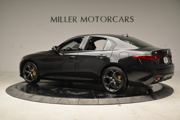 New 2018 Alfa Romeo Giulia Ti Sport Q4 for sale Sold at Bentley Greenwich in Greenwich CT 06830 4