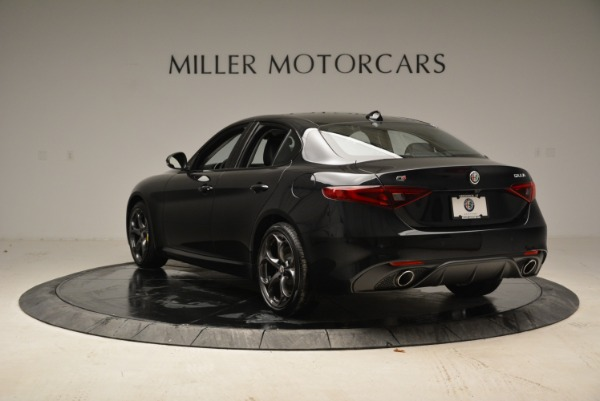 New 2018 Alfa Romeo Giulia Ti Sport Q4 for sale Sold at Bentley Greenwich in Greenwich CT 06830 5