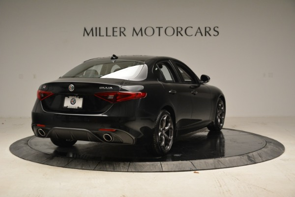 New 2018 Alfa Romeo Giulia Ti Sport Q4 for sale Sold at Bentley Greenwich in Greenwich CT 06830 7