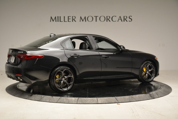 New 2018 Alfa Romeo Giulia Ti Sport Q4 for sale Sold at Bentley Greenwich in Greenwich CT 06830 8
