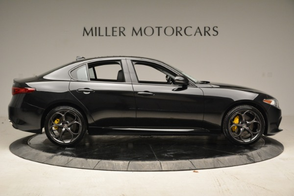 New 2018 Alfa Romeo Giulia Ti Sport Q4 for sale Sold at Bentley Greenwich in Greenwich CT 06830 9
