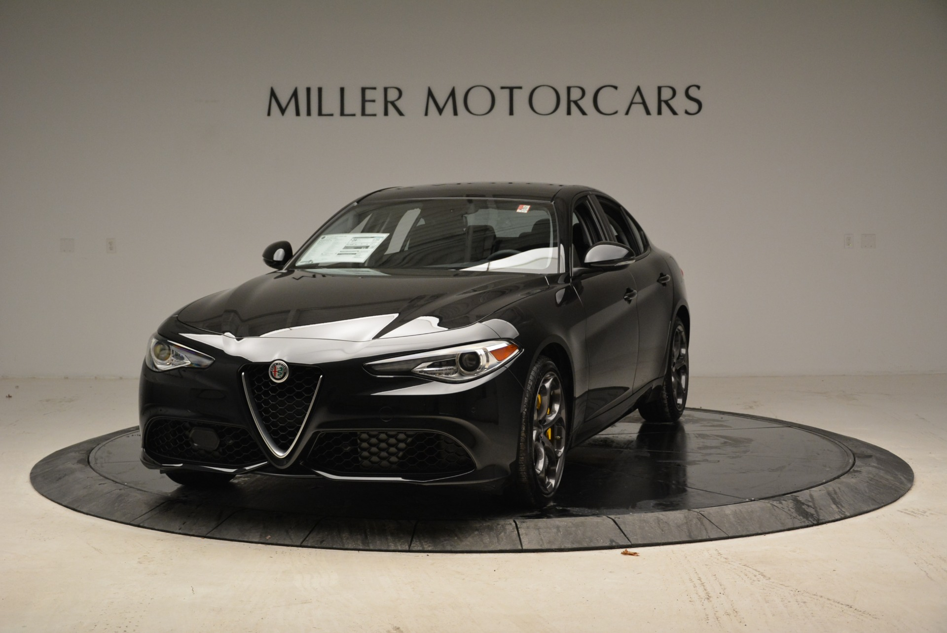 New 2018 Alfa Romeo Giulia Ti Sport Q4 for sale Sold at Bentley Greenwich in Greenwich CT 06830 1