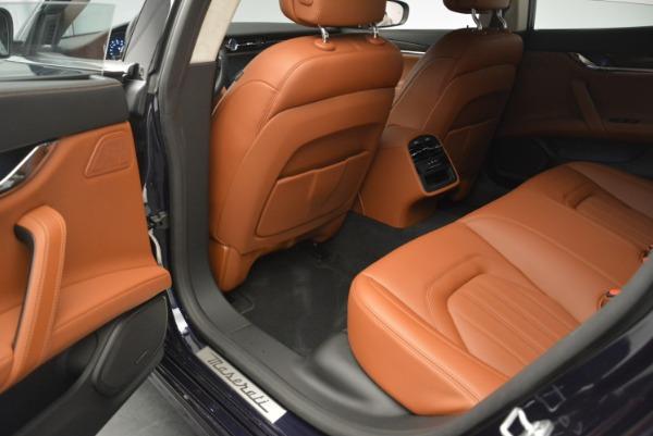 New 2018 Maserati Quattroporte S Q4 GranLusso for sale Sold at Bentley Greenwich in Greenwich CT 06830 18