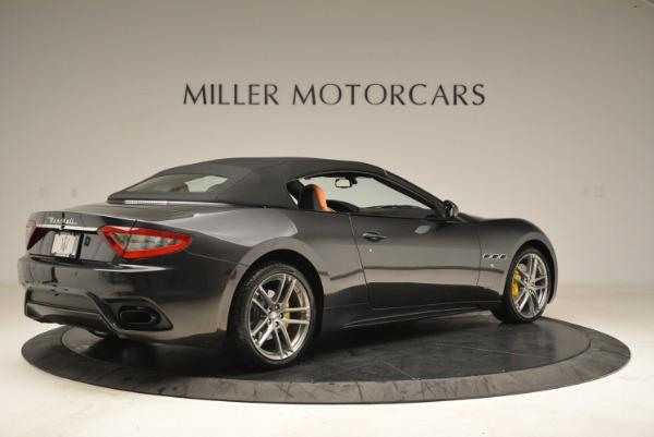 Used 2018 Maserati GranTurismo Sport Convertible for sale $92,995 at Bentley Greenwich in Greenwich CT 06830 18