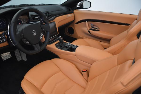 Used 2018 Maserati GranTurismo Sport Convertible for sale $92,995 at Bentley Greenwich in Greenwich CT 06830 23