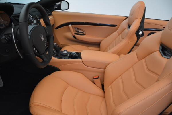 Used 2018 Maserati GranTurismo Sport Convertible for sale $92,995 at Bentley Greenwich in Greenwich CT 06830 24