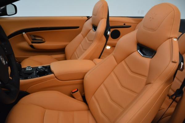 Used 2018 Maserati GranTurismo Sport Convertible for sale $92,995 at Bentley Greenwich in Greenwich CT 06830 25