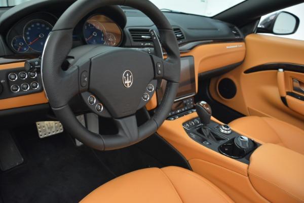 Used 2018 Maserati GranTurismo Sport Convertible for sale $92,995 at Bentley Greenwich in Greenwich CT 06830 26