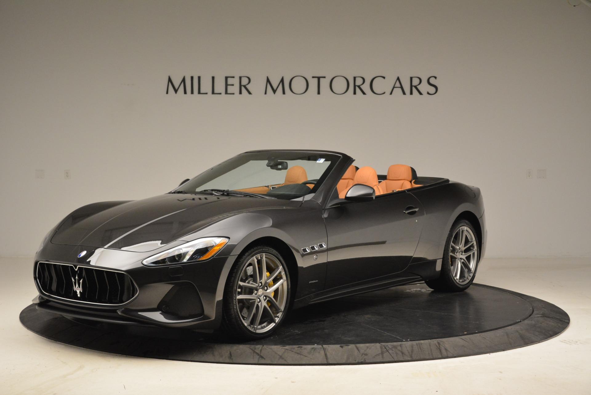 Used 2018 Maserati GranTurismo Sport Convertible for sale $92,995 at Bentley Greenwich in Greenwich CT 06830 1